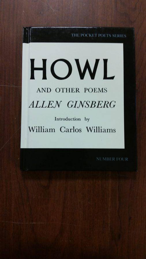 """Cover of Allen Ginsberg's """"Howl"""""""