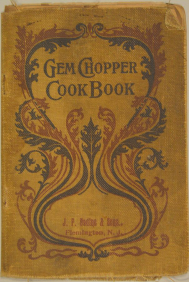 Cover to the Gem Chopper Cook Book.