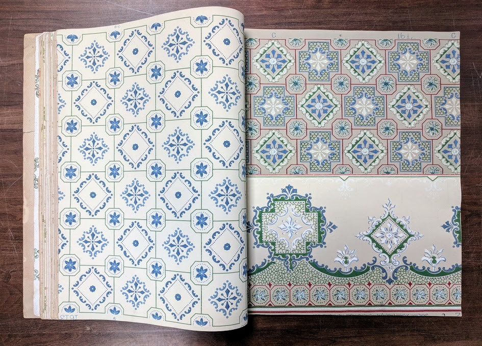 All Wallpaper Samples From The Janeway Carpender Express Books