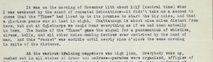 paragraph from typewritten letter