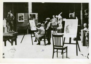 NJC Art Class, 1920